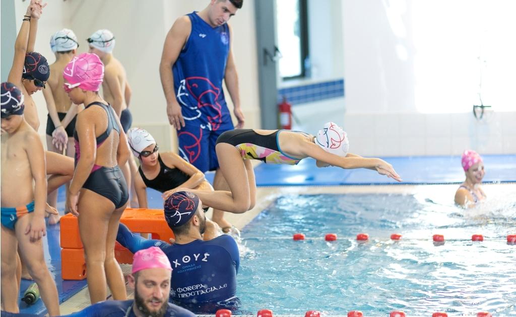 Προαγωνιστική κολύμβηση Ιχθύς